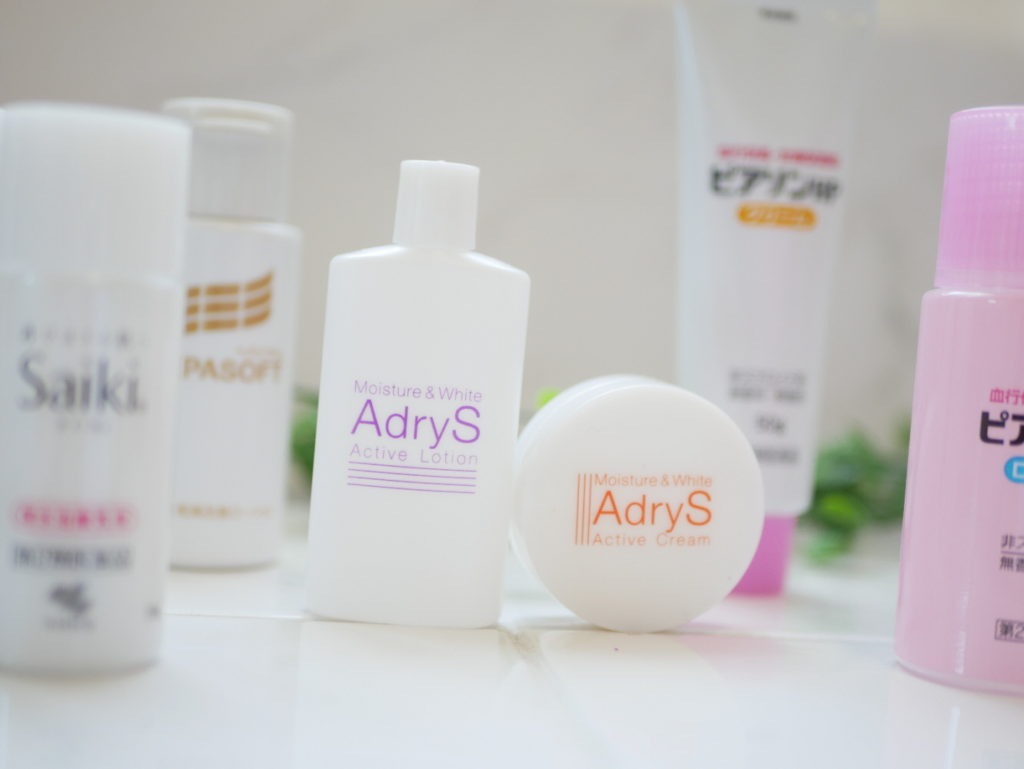 アドライズのトライアルセットを中心としたヘパリン類似物質配合の製品群